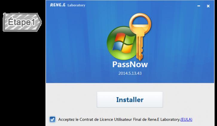 Installer Renee PassNow