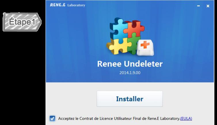 Installer Renee Undeleter