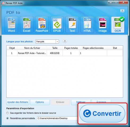 Comment scanner un document et modifier un pdf renee pdf - Comment convertir un fichier pdf en open office ...