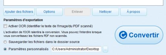 Renee PDF Aide--Convertir le fichier PDF