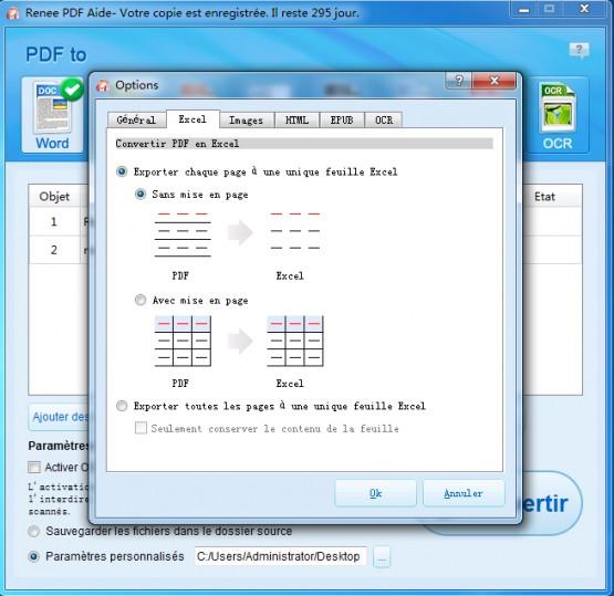 convertisseur pdf gratuit pour transformer en word  excel