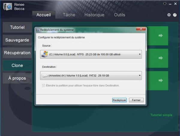 Renee Becca - Logiciel de sauvegarde pour restaurer Windows 8