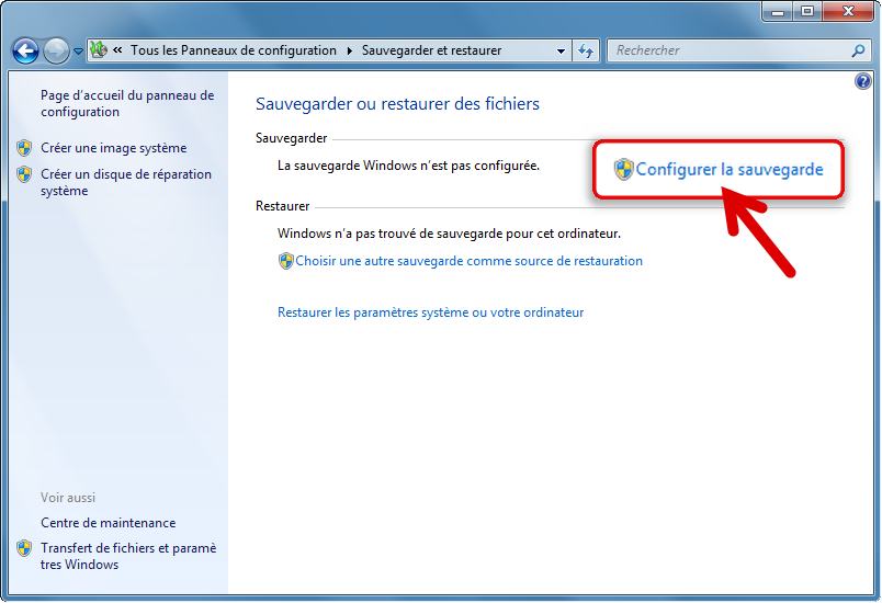 Sauvegarder windows 7 en cr ant une image syst me gratuit - Telecharger console de recuperation windows 7 ...