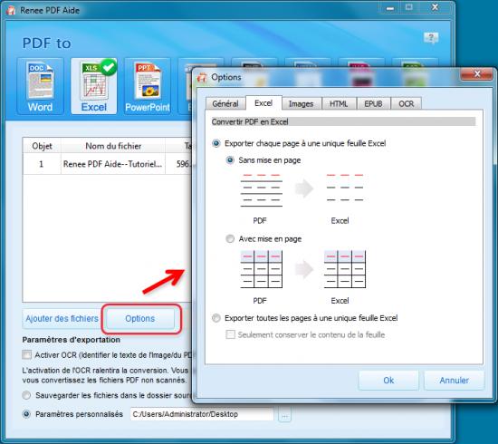 Comment convertir PDF en Excel de façon gratuite ? - Renee PDF Aide