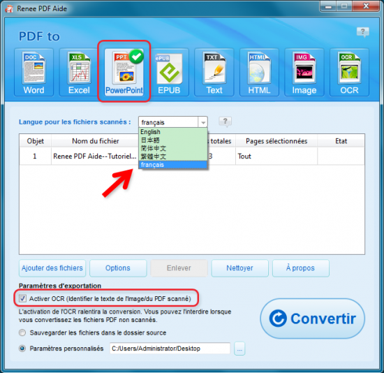 Comment convertir pdf en ppt de fa on gratuite et simple - Comment convertir un fichier pdf en open office ...