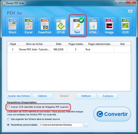 Convertir pdf en texte avec convertisseur pdf gratuit - Convertir fichier pdf en open office gratuit ...