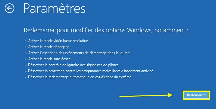 Redémarrer l'ordinateur windows 8 - Renee PassNow