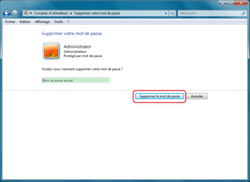 Enlever le mot de passe Windows 7-Renee PassNow