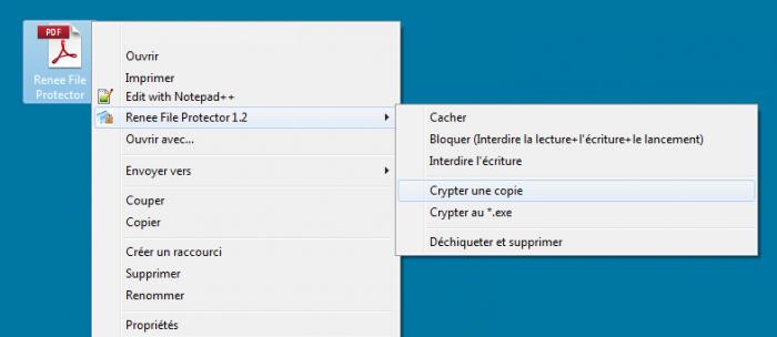 crypter un fichier PDF avec un mot de passe
