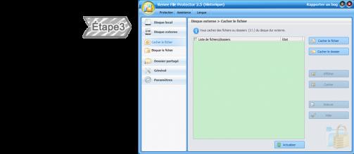 Protéger un disque dur externe