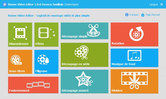Logiciel de montage vidéo - Renee Video Editor
