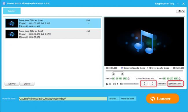 Comment couper une musique sous windows gratuitement renee video editor - Logiciel couper une video ...