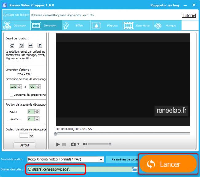 Convertir une vidéo en d'autres formats avec le convertisseur vidéo gratuit Renee Video Editor