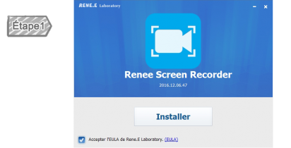 Installer Renee Screen Recorder