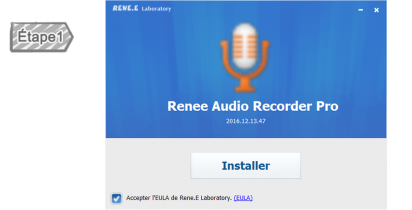 Installer Renee Audio Recorder Pro