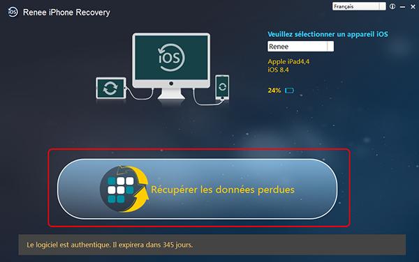 recuperer les fichiers depuis la sauvegarde itunes - etape 1