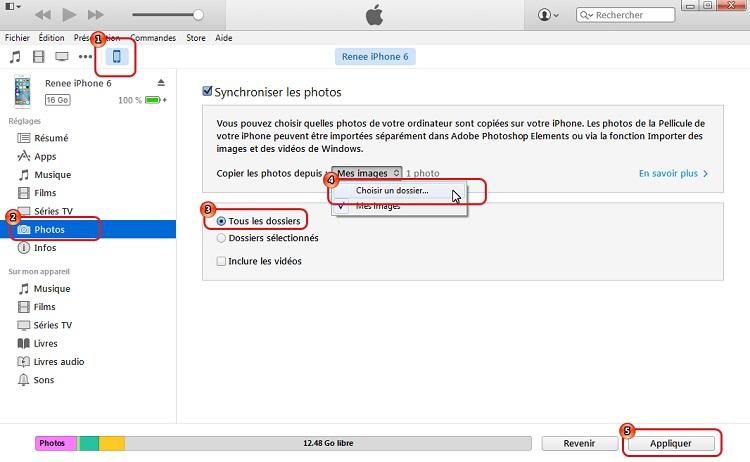 Comment Transférer Les Photos Dun Pc Vers Iphone 6