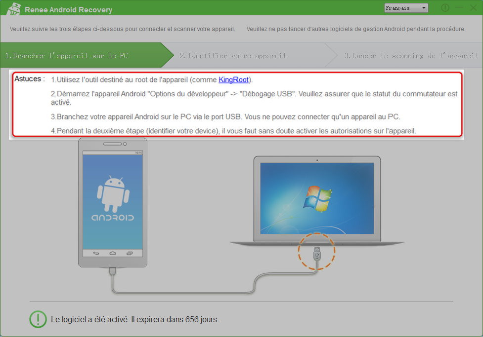 lire le tutoriel du programme Renee Android Recovery