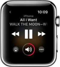 Ecouter la musique sur Apple Watch