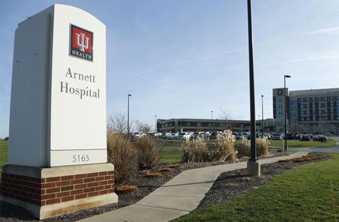 hôpital universitaire Arnett de l'Indianna