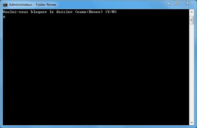 Comment mettre un mot de passe sur un dossier sous windows ? renee