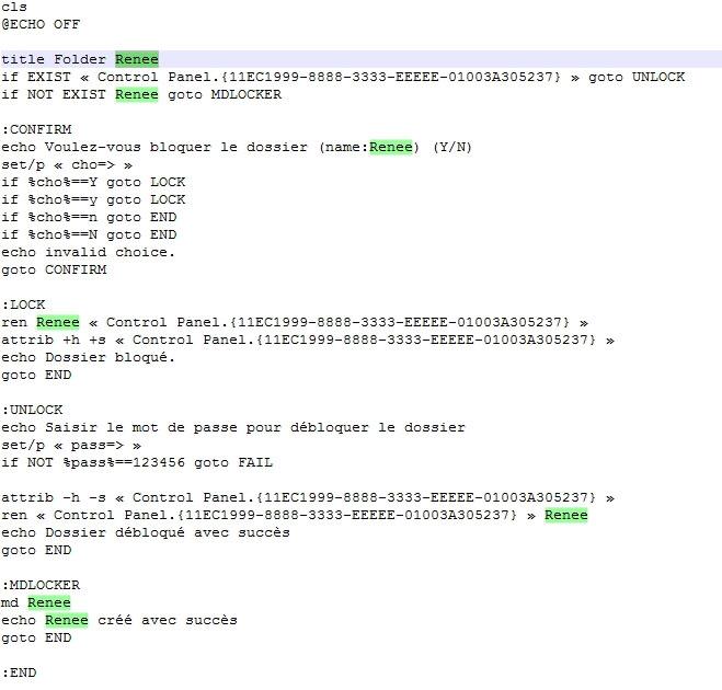 Comment mettre un mot de passe sur un dossier sous windows - Comment mettre un favori sur le bureau ...