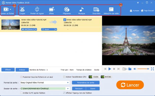 video editor pro-fonction de montage vidéo 2