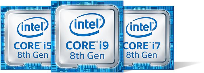 le processeur Intel de 8ème génération