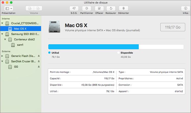 effacer le format disque dur externe