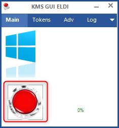 KMS GUI ELDI pour activer et cracker Windows