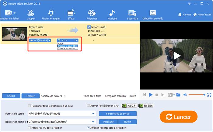 Transport Stream .ts,.mts convertir MTS en MOV, convertir TS en MP4,  convertir MTS en MP4, convertir TS en MP3, convertir MTS en MP3.Le logiciel prend en charge le traitement par lots, l'édition vidéo, la conversion de qualité et d'autres fonctionnalités pendant que vous changez AVI en...