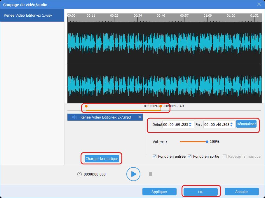 mélanger les fichiers audio