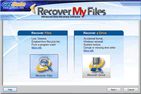 Recover My Files sert à récupérer les fichiers perdus