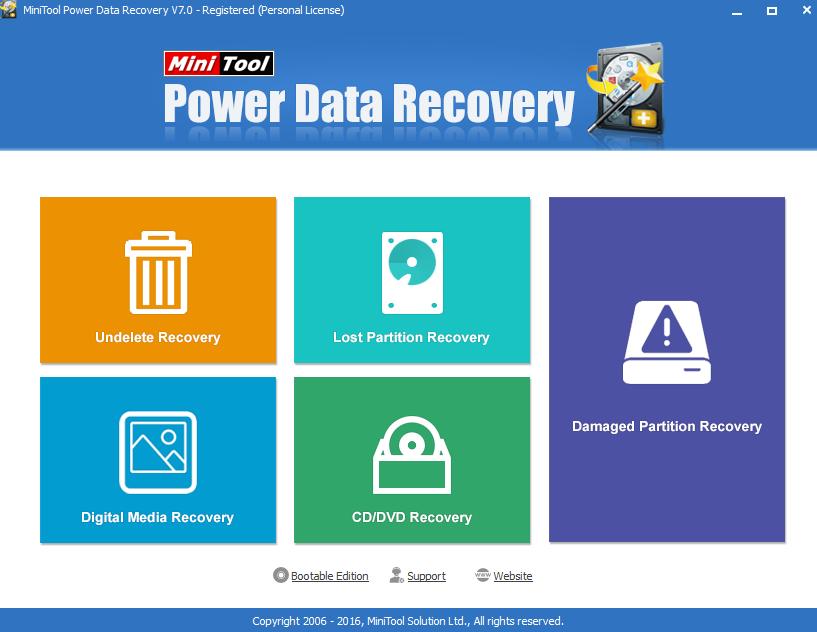 récupérer les données avec Power-Data-Recovery
