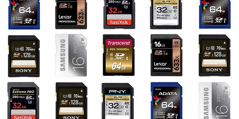 Type de carte mémoire couramment utilisé sur les appareils photo