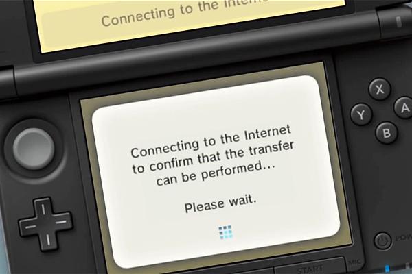 attendre la connexion à réseau sur 3DS