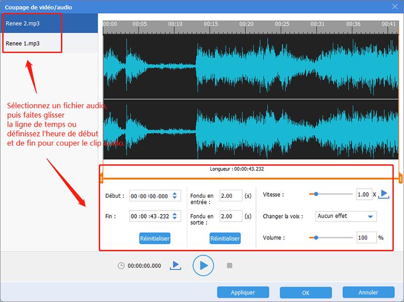 couper les fichiers MP3