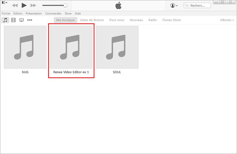 importer fichier audio sur iTunes