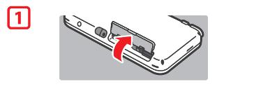 ouvrir le couvercle de la fente
