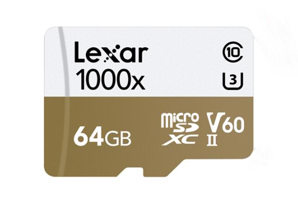 Lexar 64GB Micro SDXC