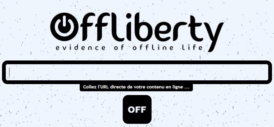 offliberty sert à convertir la musique YouTube en MP3 en ligne