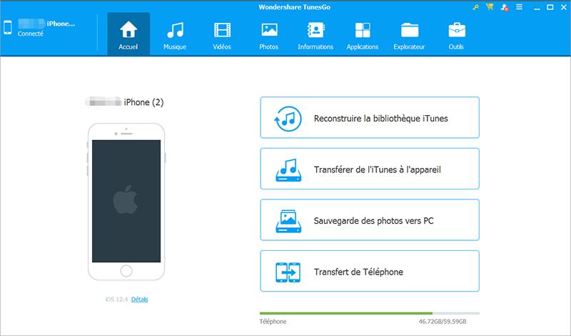 installer WondershareTunesgo