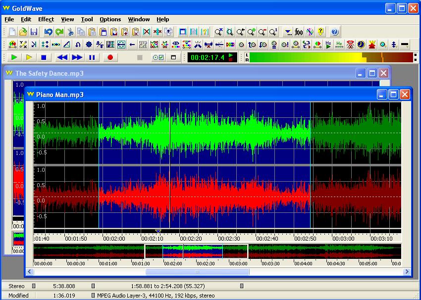 enregistrer l'audio avec le logiciel GoldWave