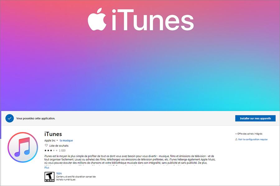 télécharger iTunes