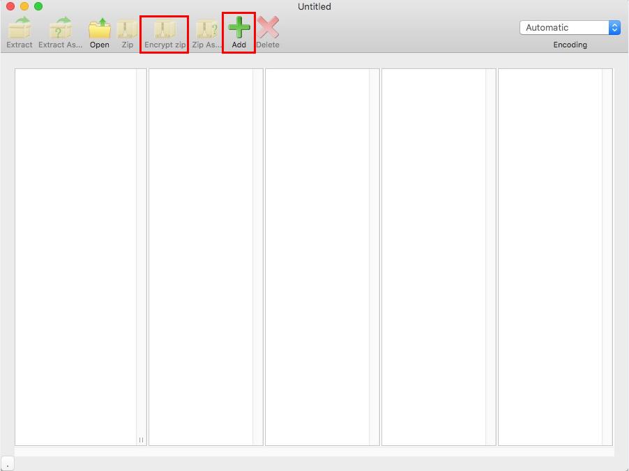 ajouter des fichiers cibles dans le logiciel Rar sharp