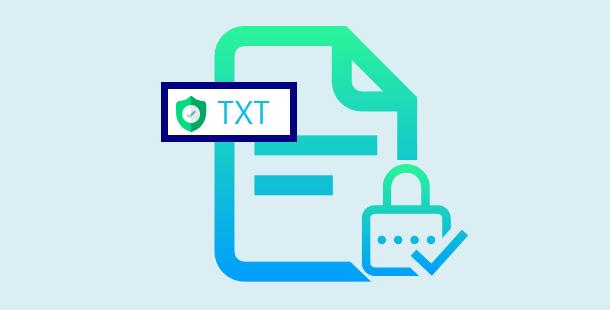 mettre un mot de passe sur un fichier TXT