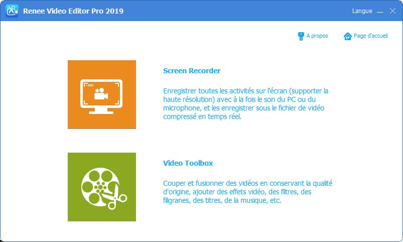 lancer Renee Video Editor Pro2019