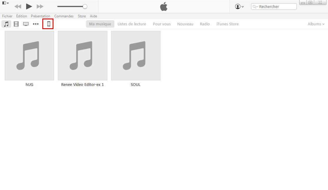 mettre à jour le système iOS d'iPhone avec iTunes