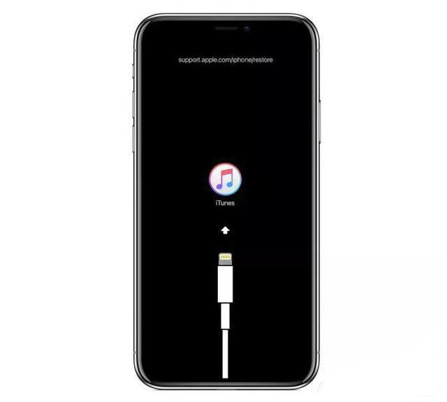 activer le mode de récupération sur iPhone X