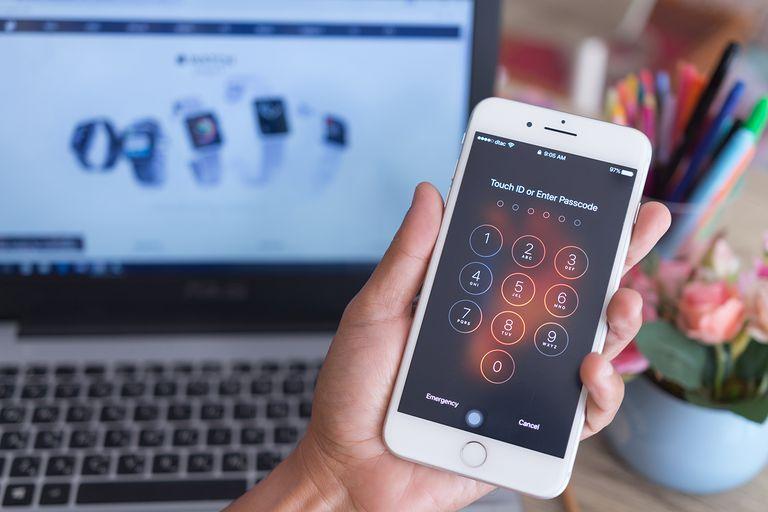 supprimer le mot de passe d'iPhone oublié